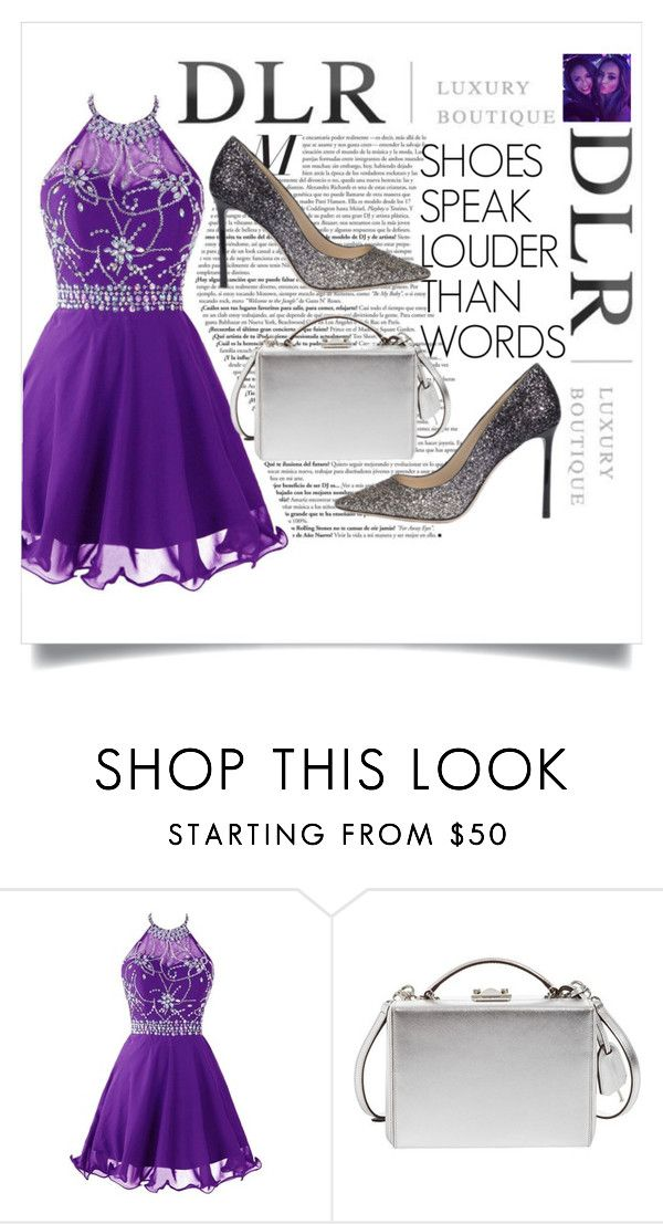 """""""DLRBOUTIQUE.COM"""" by agathaputri ❤ liked on Polyvore featuring Mark Cross and Jimmy Choo"""