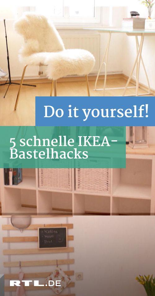 5 einfache Ikea-Hacks: Aus Möbel-Klassikern ganz schnell ...