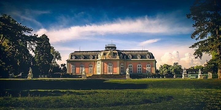 Benrat Palace, Dusseldorf, North-Rhine Westphalia, central Germany