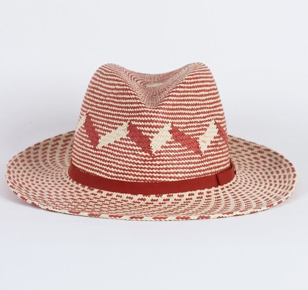 Safari Patterned Panama Hat  f8314ef84817
