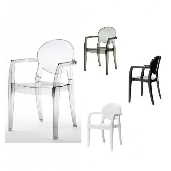 Poltrone in policarbonato modello Igloo. Sedie eleganti, robuste ...
