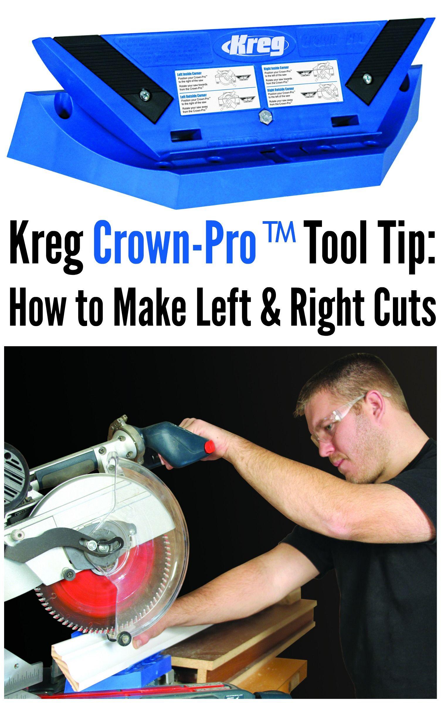 Crownpro kreg tools woodworking jigs woodworking tools