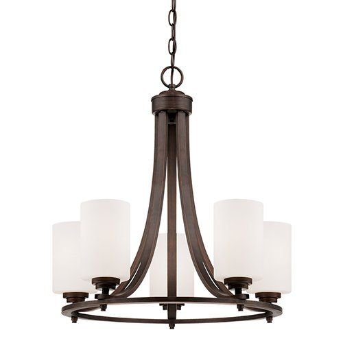 Youll love the castano 5 light shaded chandelier at wayfair great deals