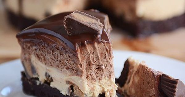 Peanut Butter Chocolate Mousse Brownie Cake | Recipe | Brownie Cake, Mousse and Peanuts