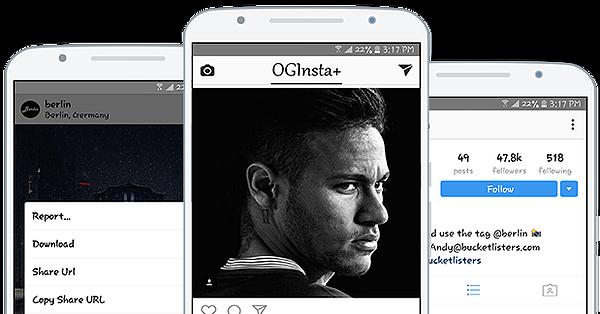 Download OGInsta+ – Free Instagram Video Downloader for Android (Version ): #OGInsta #InstagramVideoDownloader #
