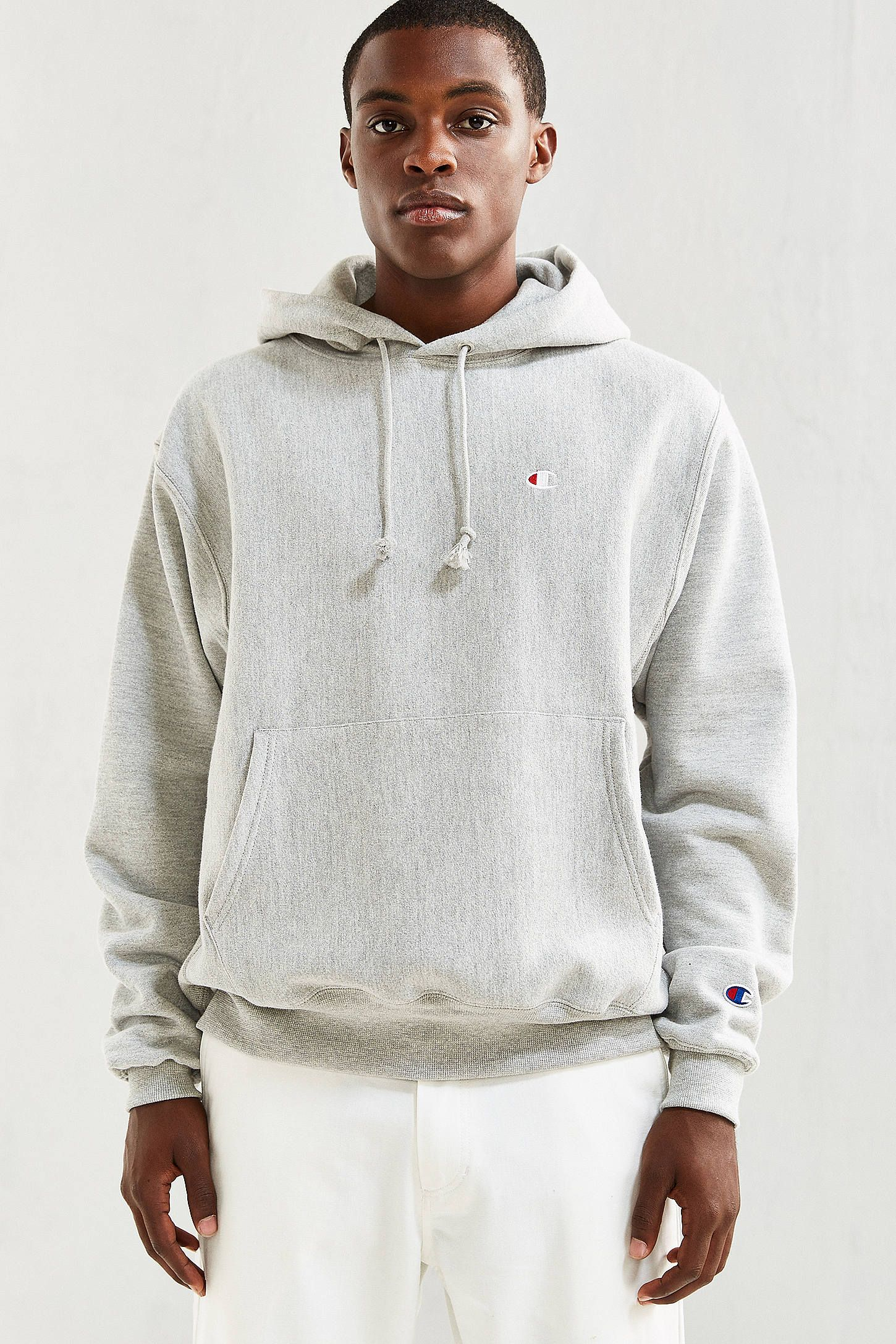 Shop Champion Reverse Weave Hoodie Sweatshirt at Urban Outfitters ... a49e853b54a5