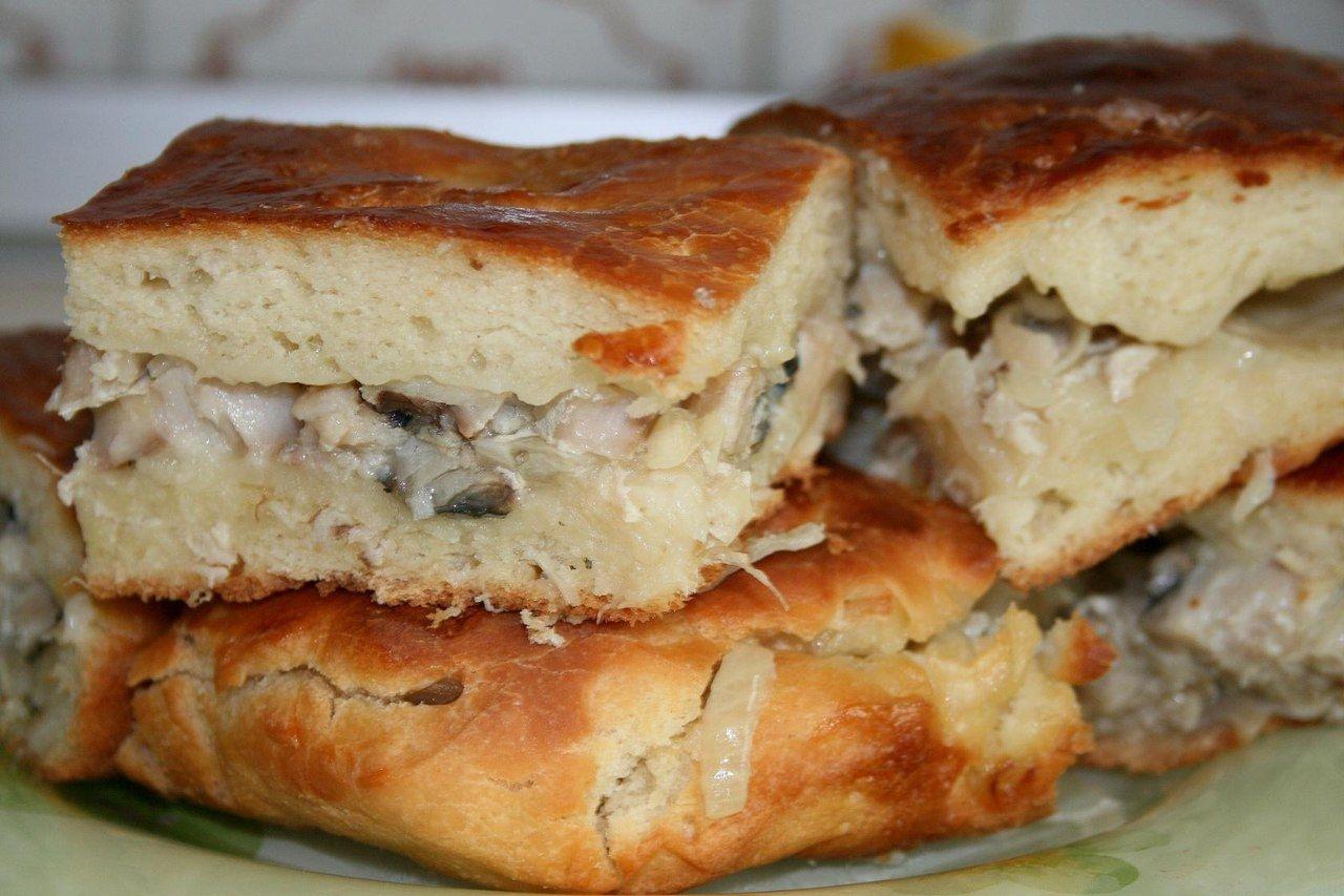 рецепты рыбного пирога с фото некоторым