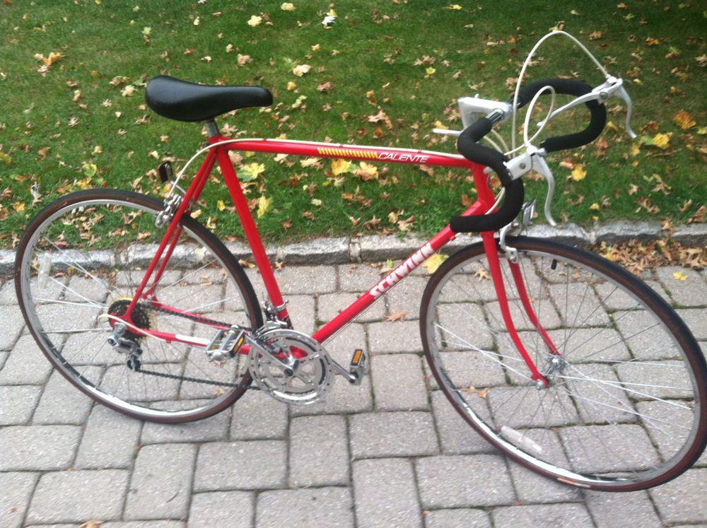 eec875956a9 Schwinn Caliente mens road touring bike mans 10 speed red racing bicycle 58  cm #Schwinn