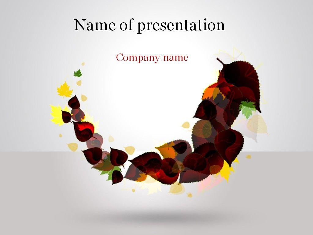 Read Autumn PowerPoint Template | Pinterest