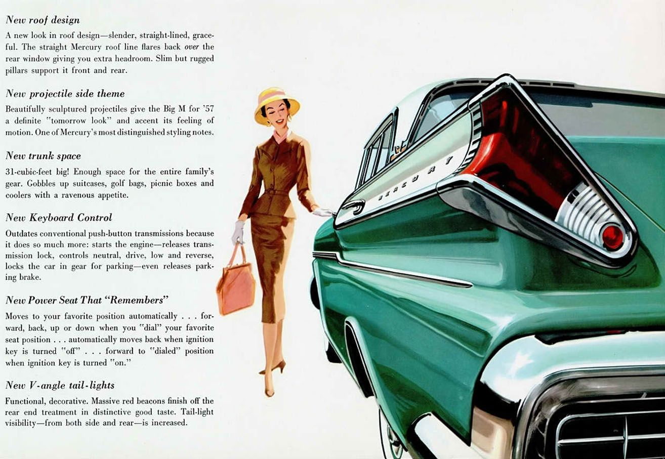 57 Mercury Turnpike Cruiser 3rd Car