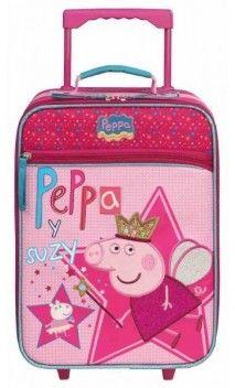 Maletas Peppa Pig Maletas Infantiles Suitcase Luggage Peppa