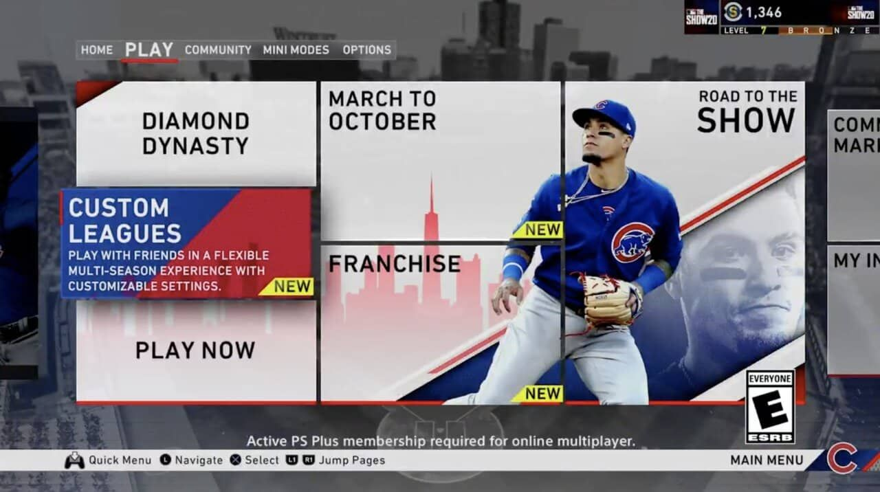Mlb The Show 20 Custom League Details In 2020 With Images Mlb The Show