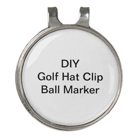 Diy Hat Clip Golf Ball Marker Zazzle Com Ball Markers Golf Ball Markers Diy Hat