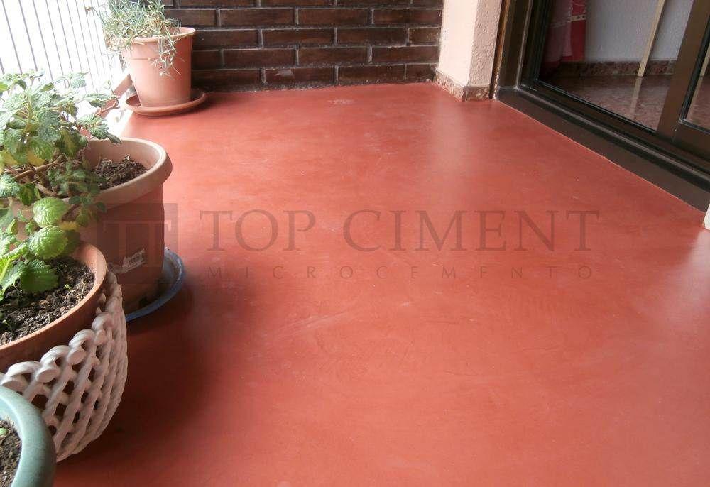 Suelo cotinuo de microcemento en terraza pavimentos de microcemento en interior y exterior - Suelo de microcemento pulido ...