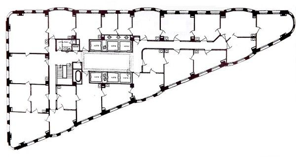 Flatiron building floor plan google search thesis for Google planimetria
