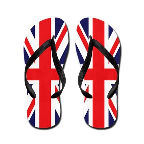 Union Jack Flip Flops #cafepress #flipflops
