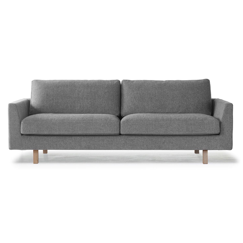 Stay 3-istuttava sohva, musta/valkoinen – Ire – Osta kalusteita verkossa osoitteessa ROOM21.fi