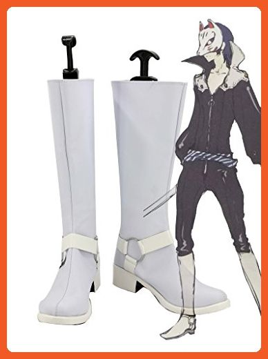 P5A the Day Breakers Persona 5 Kitagawa Yuusuke Cosplay Shoes Boots Custom Made