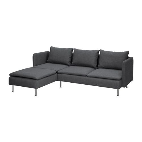 gr vsta 2er sofa mit r camiere ikea die r camiere kann links oder rechts vom sofa aufgestellt. Black Bedroom Furniture Sets. Home Design Ideas