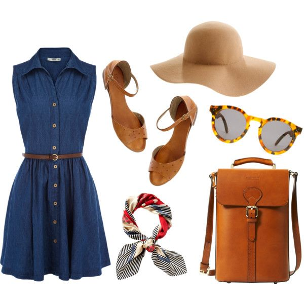 I Would Want To Wear This On A Bright Sunny Day S T Y L E Pinterest Picnics Shirtdress