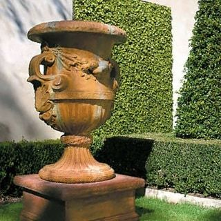 Brittany Urn on Stand  sure to have that WOW factor for any outdoor space 3259 as pictured