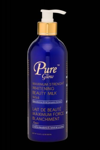 Lightening Cream: Pure Glow Maximum Strength Whitening Beauty Milk, Pure Glow Lotion BUY IT NOW ONLY: $64.95