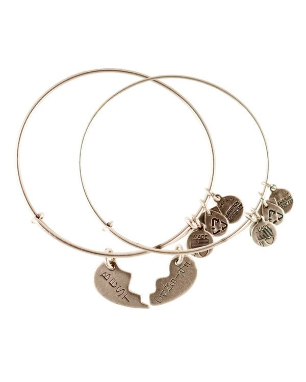 Alex And Ani Best Friends Forever Set Of Two Bangles Charity By Design Collection