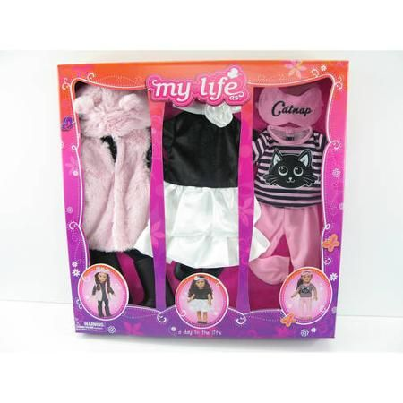 Baby Doll Clothes At Walmart A Day In The Life Clothing Set 1  Walmart  Doll Chorgestühls