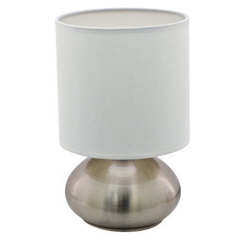 Versailles Touch Lamp Brushed Nickel Lightaccents Touch Lamp Touch Table Lamps Lamp