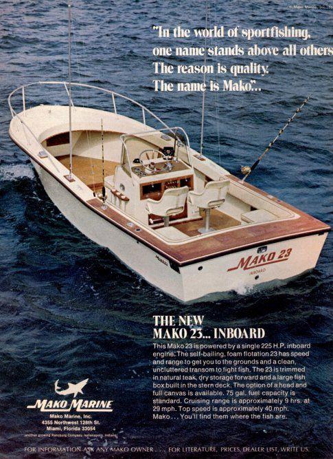 Mako Classic Fishing Boat