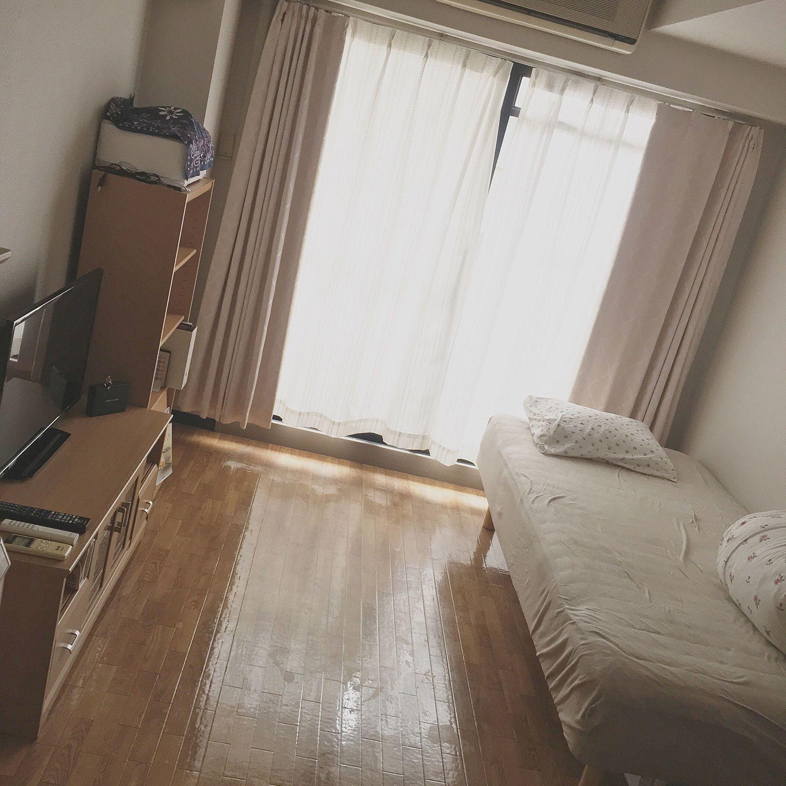 部屋全体 一人暮らし 7畳 大学生 大学生 一人暮らし などのインテリア実例 2018 08 09 12 16 00 Roomclip ルームクリップ インテリア 部屋のインスピレーション インテリア 実例