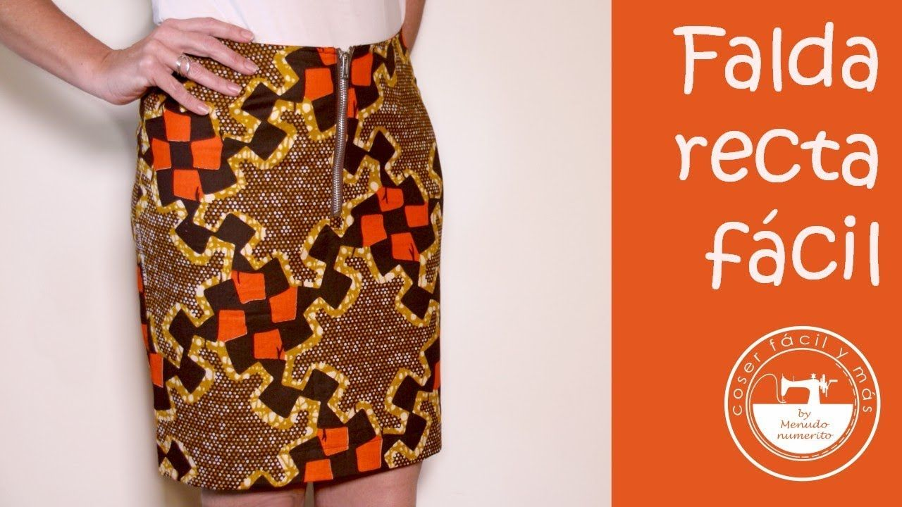 4d98a038f Falda base o falda recta a medida, fácil | COSTURA | Coser falda ...