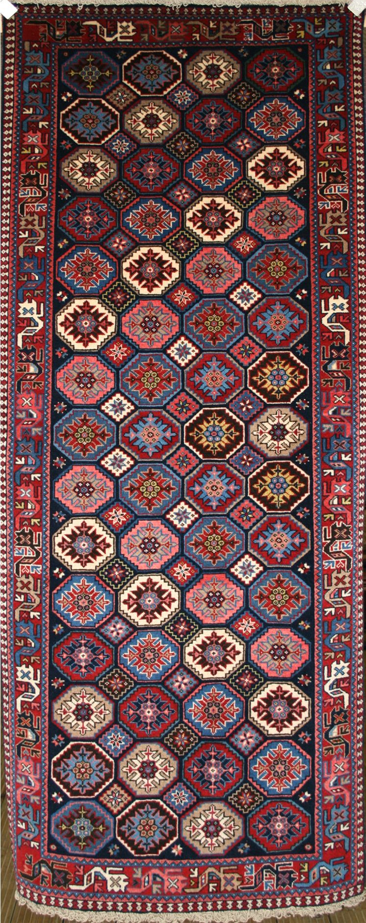 Persian Hand Knotted Yalameh Rug In Wool Ref 707 2