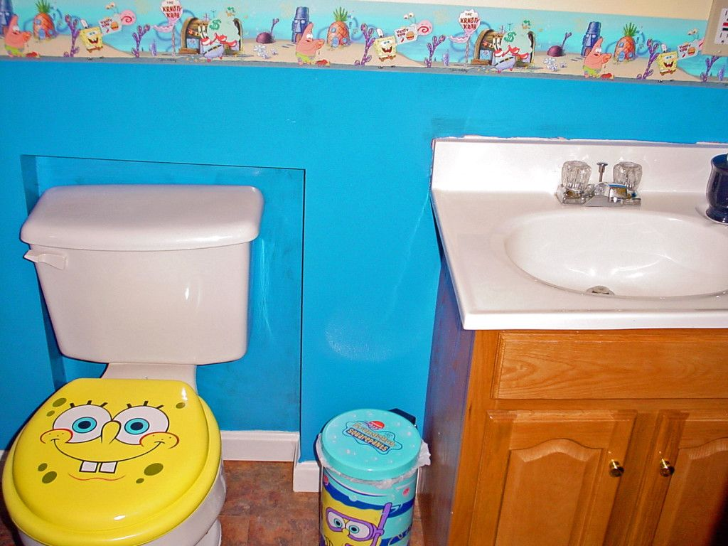 Http Vialhome Com Spongebob Bathroom Accessories And Curtains Bathroom Kids Kid Bathroom Decor Girl Bathroom Decor