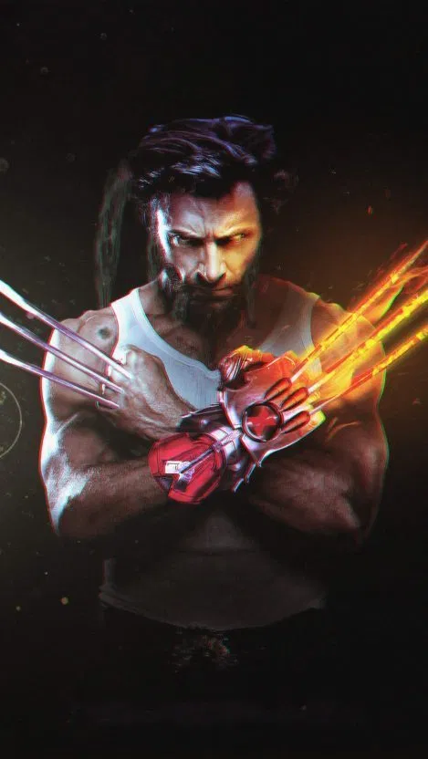 Wolverine Claws iPhone Wallpaper Free Superhero