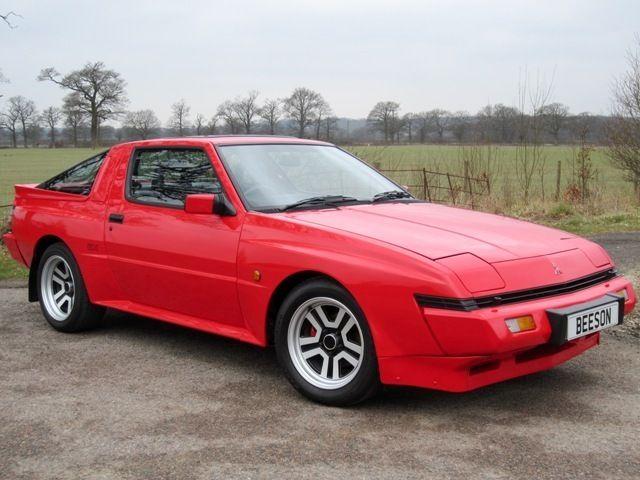 1990 Mitsubishi Starion Ex Turbo 2 6 Widebody Superb Ultra Rare