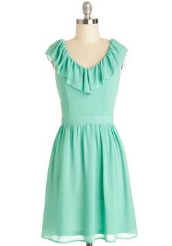 7ec73825fff6 Ready for Radiance Dress, #ModCloth Mint Bridesmaid Dresses, Senior Prom  Dresses, Bridesmaids