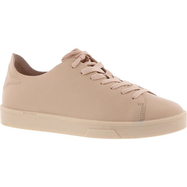 5fe2adbe40e6c Calvin Klein Irena Women's Tan Oxford ($110) ❤ liked on Polyvore ...