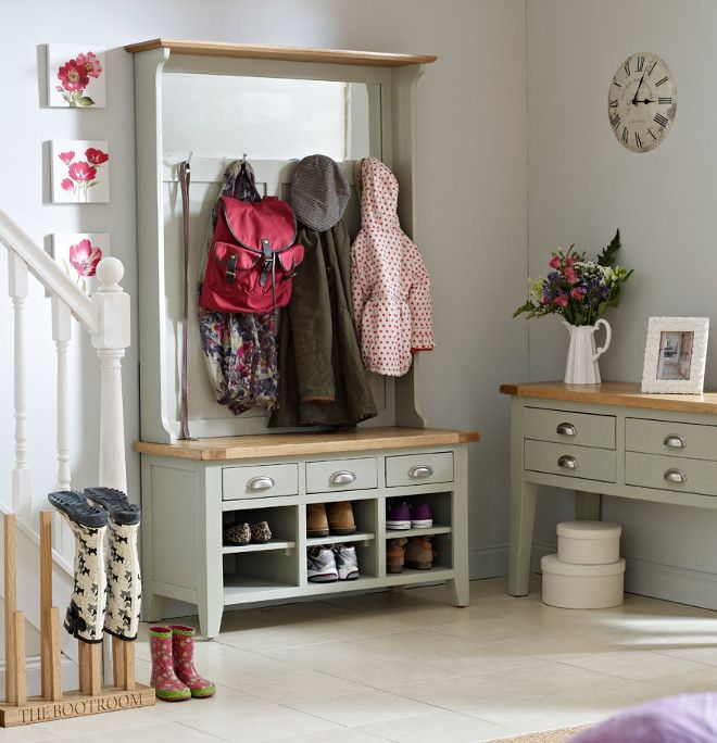 These Free Standing Hallway Units Provide Storage For Coats Bags And Shoes As
