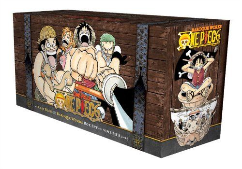 One Piece Box Set: East Blue and Baroque Works, Volumes 1-23 by Eiichiro Oda,http://www.amazon.com/dp/1421560747/ref=cm_sw_r_pi_dp_UC0etb1E8V5J6CYW