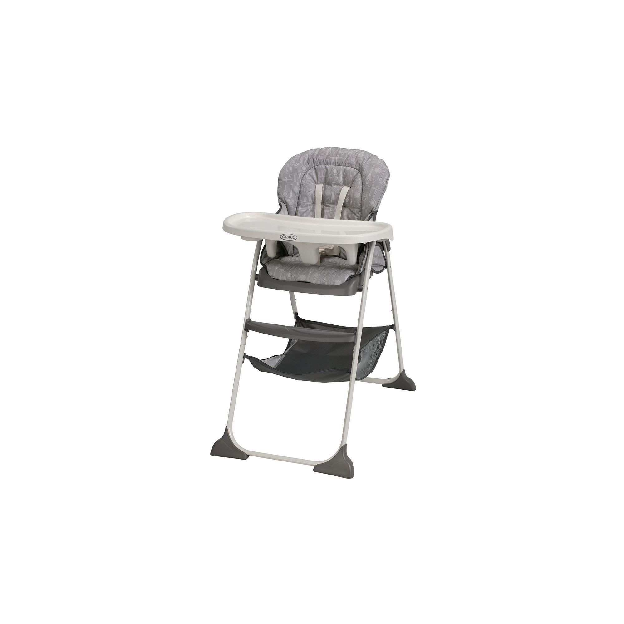 Graco Slim Fold High Chair How To Recane A Snacker Products Baby Gear Feeding Multicolor