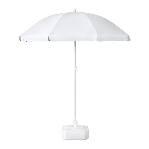 fisk rams umbrella with base adjustable white ikea new house pinterest. Black Bedroom Furniture Sets. Home Design Ideas