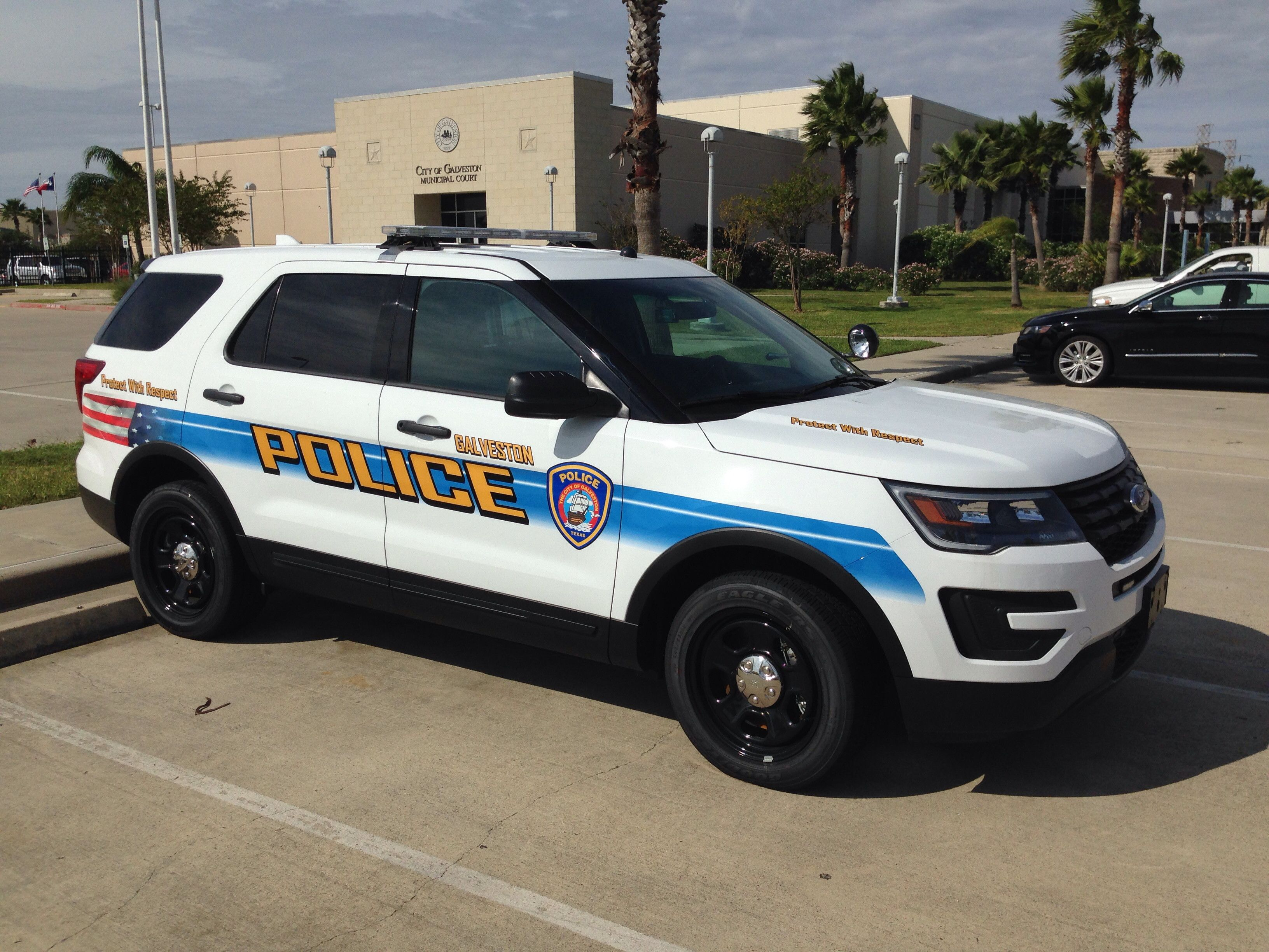 Galveston Police Department Ford Police Interceptor Suv Ford Police Old Police Cars Police