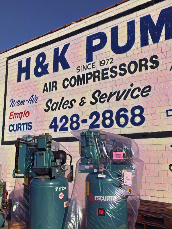 A compressor that fits in your hand. Curtis air
