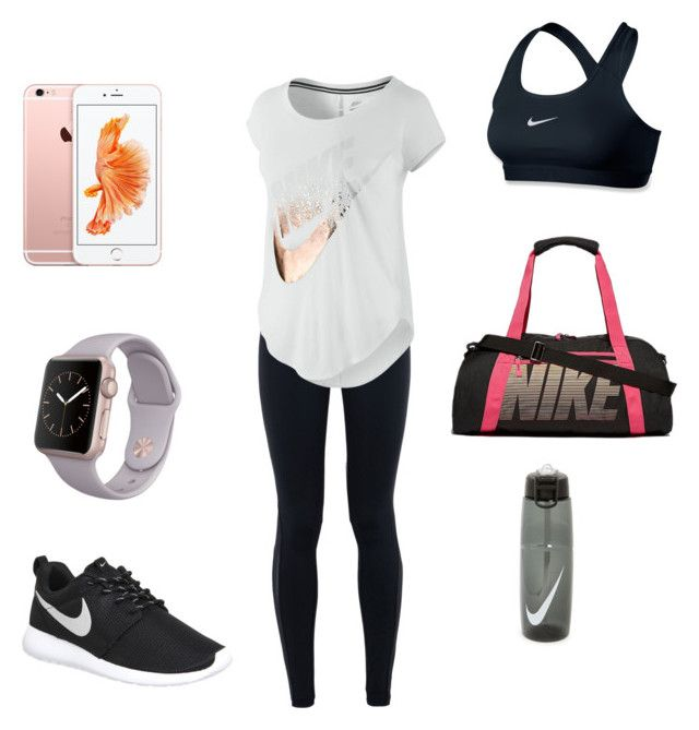 """""""Nike """" by bruh-its-d on Polyvore featuring NIKE, women's clothing, women, female, woman, misses and juniors"""