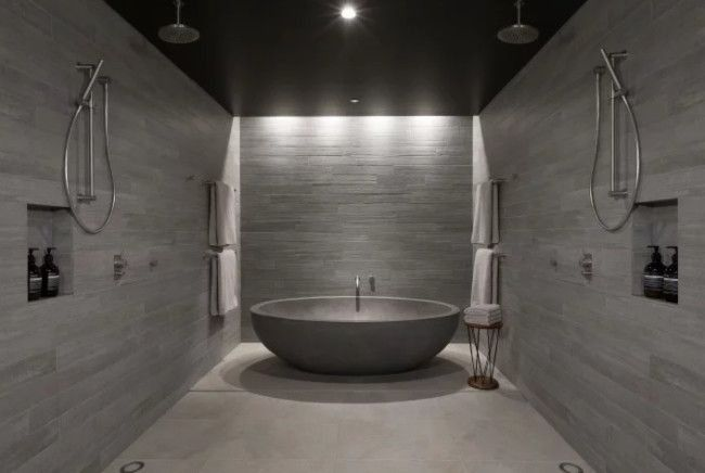 Are These The Best Hotel Bathrooms In The World Concrete Bathroom Design Hotel Hotel Canberra Concrete Bathroom