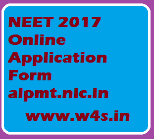 NEET 2017 Application Form, Eligibility Criteria, Exam Pattern ...
