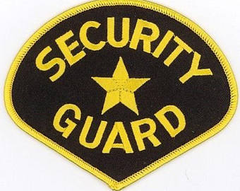 Second Amendment Inspired Apparel And By Redstonecreativeshop Security Guard Embroidered Patches Rothco