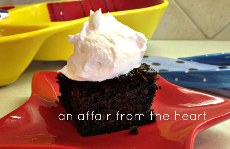 Depression Cake | An Affair from the Heart