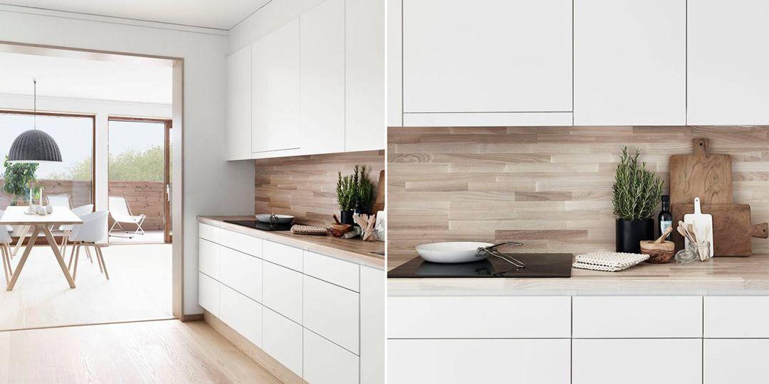 100 idee di cucine moderne con elementi in legno | Cucina moderna ...